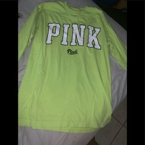 PINK by Victoria long sleve shirt